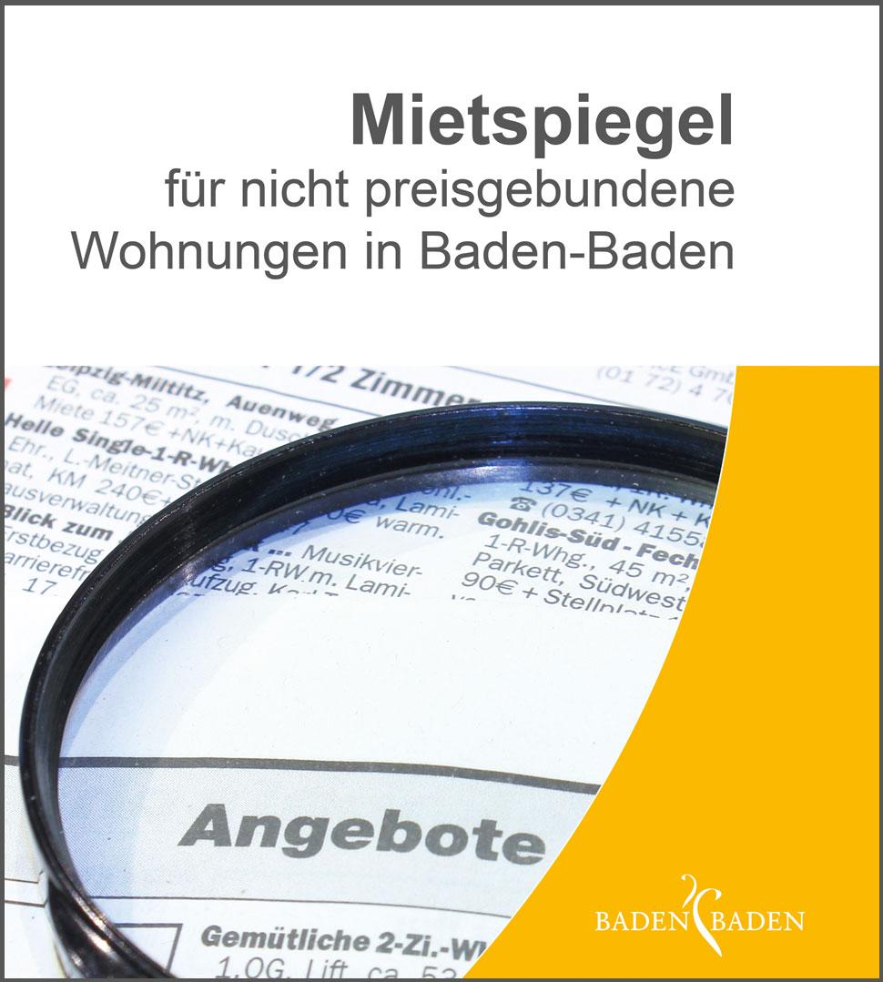 Mietspiegel Baden Baden