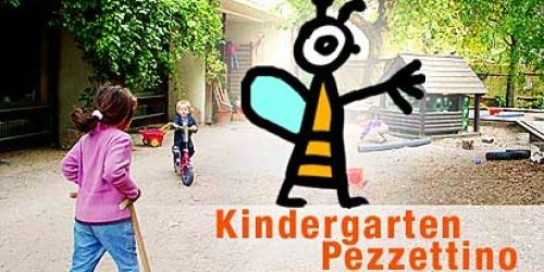 Flyer des Kindergartens Pezzettino
