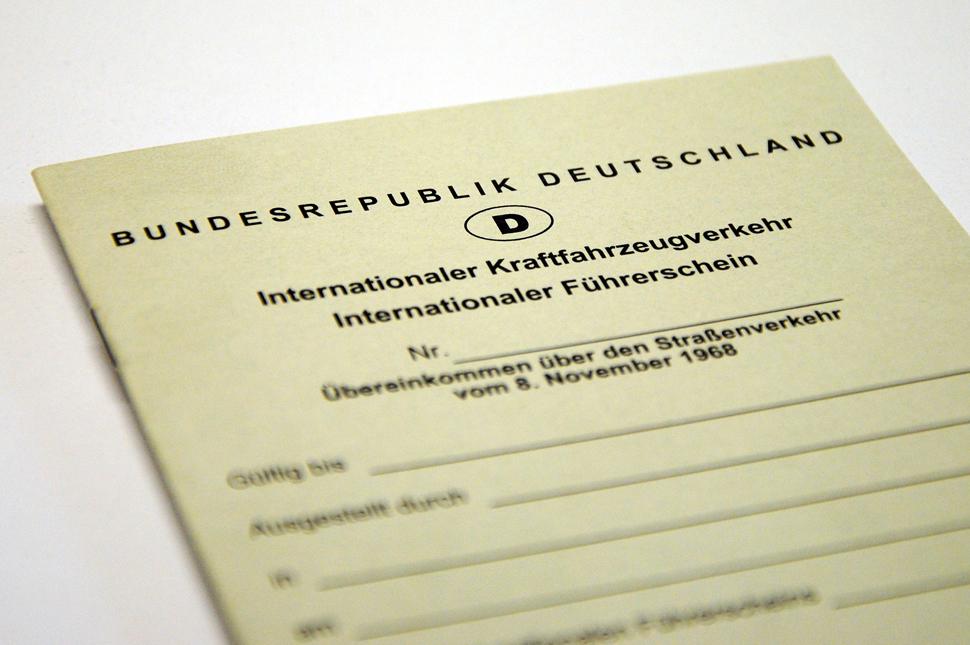 Führerschein international beantragen  Serviceportal